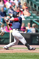 Pawtucket Red Sox Bell, Bubba during a game vs. the Rochester Red Wings at Frontier Field in Rochester, New York;  August 29, 2010.   Rochester defeated Pawtucket 6-3.  Photo By Mike Janes/Four Seam Images