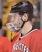 Steve Birnstill - The Boston College Eagles defeated the Northeastern University Huskies 5-2 in the opening game of the 2006 Beanpot at TD Banknorth Garden in Boston, MA, on February 6, 2006.