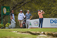 Matt Fitzpatrick (ENG) watches his tee shot on 10 during day 2 of the World Golf Championships, Dell Match Play, Austin Country Club, Austin, Texas. 3/22/2018.<br /> Picture: Golffile | Ken Murray<br /> <br /> <br /> All photo usage must carry mandatory copyright credit (&copy; Golffile | Ken Murray)