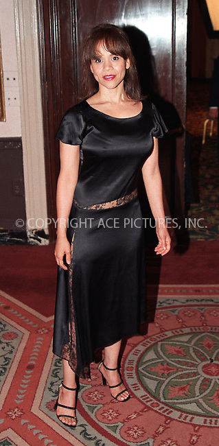 Rosie Perez at the Directors Guild of America Honors 2002 at the Waldorf-Astoria in New York City. June 9, 2002. REF: AMUS2099. Please byline: Anthony Moore/NY Photo Press.   ..*PAY-PER-USE*      ....NY Photo Press:  ..phone (646) 267-6913;   ..e-mail: info@nyphotopress.com