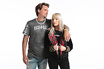FIA EXCLU!  Rod Stewart's older son, Sean Stewart shoots a campaign for Rockin Street Wear with Model Aly Rose Stewart and pose with designer MaryElizabeth Stewart at Flash Monkeys Studios in Downtown Los Angeles, 11/22/18.<br /> <br /> Exclusive Pix by FIA Pictures<br /> 310.770.3612 TM<br /> <br /> Sales@ForceInAction.com<br /> TM@ForceInAction.com<br /> <br /> All Rights Reserved