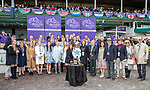 November 2, 2018: Connections for Bulletin #5 on Breeders' Cup World Championship Friday at Churchill Downs on November 2, 2018 in Louisville, Kentucky. Bill Denver/Eclipse Sportswire/CSM