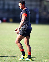 Nathan Earle (Saracens) during the England Rugby training session at  Jonsson Kings Park Stadium,Durban.South Africa. 05,06,2018 Photo by Steve Haag)