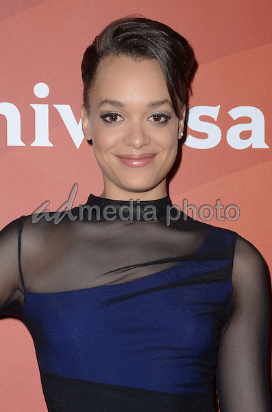 14 January  - Pasadena, Ca - Britne Oldford. NBC Universal Press Tour Day 2 held at The Langham Huntington Hotel. Photo Credit: Birdie Thompson/AdMedia