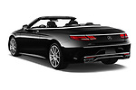 Car pictures of rear three quarter view of 2019 Mercedes Benz S-Class - 2 Door Convertible Angular Rear