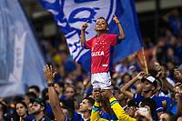 BELO HORIZONTE, MG, 23.03.2019: CRUZEIRO-PATROCINENSE- Torcida durante partida entre Cruzeiro e Patrocinense, válida pela quarta de final do campeonato mineiro 2019,  no Estadio Mineirão em Belo Horizonte, MG, na noite deste sábado (23) (foto Giazi Cavalcante/Codigo19)
