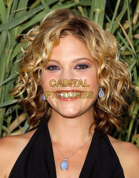 NICKI AYCOX.Attends the 'Jeepers Creepers 2' L.A Premiere Held At The Egyptian Theatre  .headshot, portrait, light blue earrings, matching necklace.www.capitalpictures.com.sales@capitalpictures.com.©Capital PIctures
