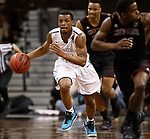 SIOUX FALLS, SD: MARCH 22: Cornelius Taylor #0 of Lincoln Memorial breaks against Chico State during the Men's Division II Basketball Championship Tournament on March 22, 2017 at the Sanford Pentagon in Sioux Falls, SD. (Photo by Dick Carlson/Inertia)