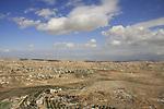 Judea, Herodion, built by Herod in the Judean desert