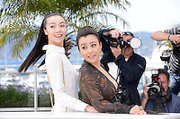 "Qi Xi and Hao Lei attending the ""Mystery"" Photocall during the 65th annual International Cannes Film Festival in Cannes, France, 17th May 2012..Credit: Timm/face to face /MediaPunch Inc. ***FOR USA ONLY***"