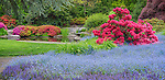 Seattle, WA<br /> Kubota Garden city park, spring view of the Tom Kubota Stroll Garden