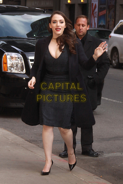 NEW YORK, NY - FEBRUARY 25: Kat Dennings at Late Show with David Letterman on February 25, 2014 in New York City, NY., USA.<br /> CAP/MPI/RW<br /> &copy;RW/ MediaPunch/Capital Pictures