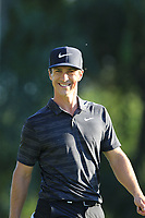 Thorbjorn Olesen (DEN) walks off the 18th tee during Saturday's Round 3 of the 2018 Turkish Airlines Open hosted by Regnum Carya Golf &amp; Spa Resort, Antalya, Turkey. 3rd November 2018.<br /> Picture: Eoin Clarke | Golffile<br /> <br /> <br /> All photos usage must carry mandatory copyright credit (&copy; Golffile | Eoin Clarke)