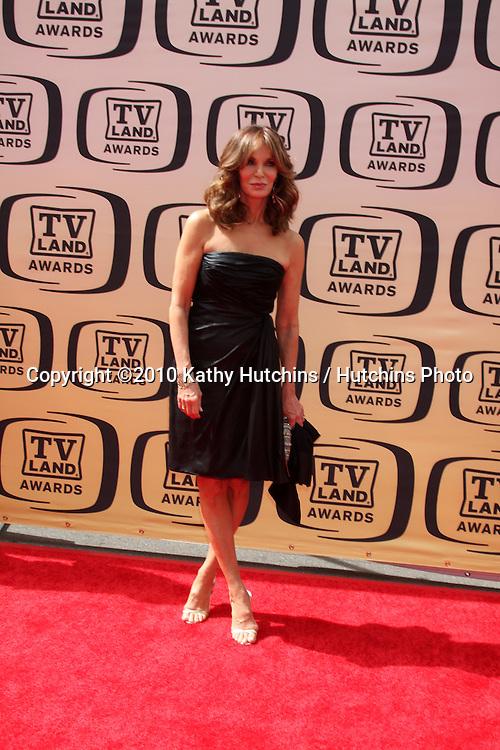 Jaclyn Smith.arrives at the 2010 TV Land Awards.Sony Studios.Culver City, CA.April 17, 2010.©2010 Kathy Hutchins / Hutchins Photo...