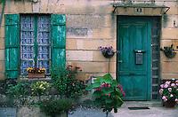 Europe/France/Aquitaine/33/Gironde/Macau: Détail d'une maison