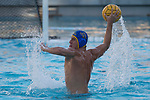 LOS ANGELES, CA - DECEMBER 03:  David Stilling (10) of the University of California Los Angeles shoots the ball during the Division I Men's Water Polo Championship held at the Uytengsu Aquatics Center on the University of Southern California campus on December 3, 2017 in Los Angeles, California. UCLA defeated USC 5-7 to win the National Championship. (Photo by Justin Tafoya/NCAA Photos via Getty Images)