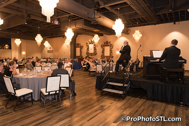 """Spring Fling"" gala event presented by St. Louis Psychoanalytic Institute at Caramel Room of Bissinger's Chocolate Factory in St. Louis, Missouri on May 4, 2016."