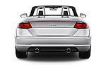 Straight rear view of 2016 Audi TT-Roadster - 2 Door Convertible Rear View  stock images