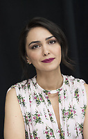 Nazanim Boniadi at the Hotel Mumbai press conference in New York City on 17 March 2019. Credit: Magnus Sundholm/Action Press/MediaPunch ***FOR USA ONLY***