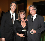 Joseph Thalken, Patti Lupone & Eric Schaeffer.attending the Signature Theatre Stephen Sondheim Award Gala reception honoring Patti Lupone at the Embassy of Italy in Washington D.C. on 4/16/2012.
