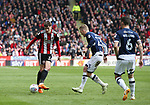 David Brooks of Sheffield Utd during the championship match at the Bramall Lane Stadium, Sheffield. Picture date 14th April 2018. Picture credit should read: Simon Bellis/Sportimage