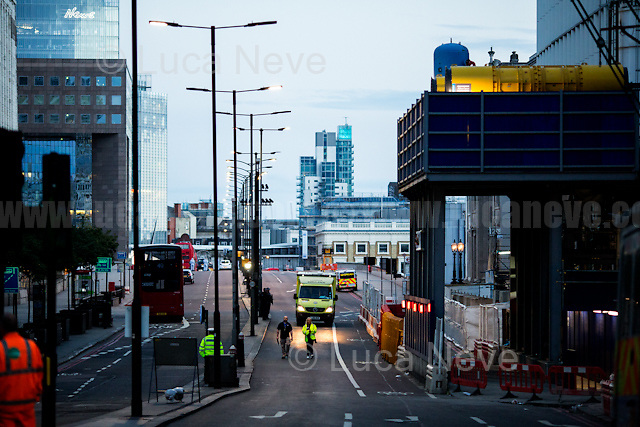 The last ambulance.<br />