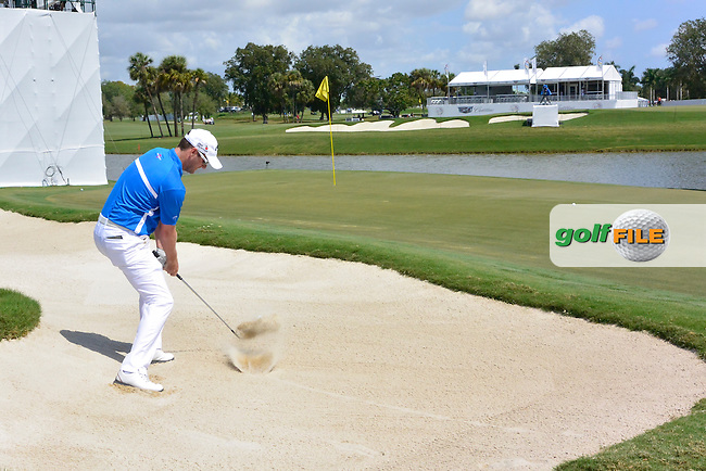 Marc Warren (SCO) during the 2nd round at the WGC Cadillac Championship, Blue Monster, Trump National Doral, Doral, Florida, USA<br /> Picture: Fran Caffrey / Golffile