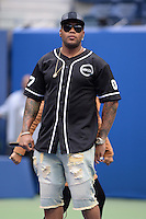 FLUSHING NY- AUGUST 26: Flo Rida performs during rehearsals for Arthur Ashe kids day at the USTA Billie Jean King National Tennis Center on August 26, 2016 in Flushing Queens. Photo byMPI04 / MediaPunch