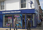 Carphone Warehouse shop, Felixstowe, Suffolk, England