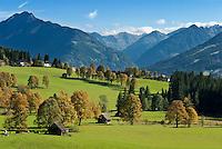 Austria, Styria, Ramsau and Schladminger Tauern mountains | Oesterreich, Steiermark, Ramsau vor Schladminger Tauern