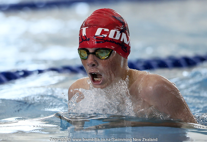 Action during the New Zealand Junior Swimming Championships, Owen G Glenn National Aquatic Centre, Auckland New Zealand. Saturday 20 February 2016 Photo: Simon Watts/www.bwmedia.co.nz