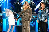25 September 2019 - Nashville, Tennessee - Tori Kelly, Kristin Chenoweth, Trisha Yearwood, Hillary Scott. 2019 CMA Country Christmas held at the Curb Event Center. Photo Credit: Dara-Michelle Farr/AdMedia
