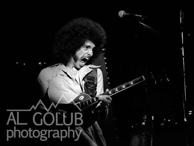 Neal Schon on lead guitar<br /> FRESNO, California&mdash;Some time in 1976, traveled with Bill Barr of Rock'n Chair Production  to see Electric Light Orchestra, Journey and Little Feat in Fresno Memorial Auditorium.  ElO members: Jeff Lynne, Bev Bevan, Richard Tandy, Mik Kaminski, Kelly Groucutt, Hugh McDowell and Melvyn Gale.  1975 - 1978 were big years for ELO.  Journey included Neal Schon on lead guitar, Gregg Rolie on keyboards and lead vocals, bassist Ross Valory and rhythm guitarist George Tickner.  Little Feat's classic line-up: Bill Payne, Richie Hayward, Sam Clayton, Lowell George, Paul Barrere and Kenny Gradney,  Photo by Al Golub/Golub Photography