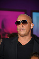 Vin Diesel at the world premiere for &quot;Guardians of the Galaxy Vol. 2&quot; at the Dolby Theatre, Hollywood. <br /> Los Angeles, USA 19 April  2017<br /> Picture: Paul Smith/Featureflash/SilverHub 0208 004 5359 sales@silverhubmedia.com
