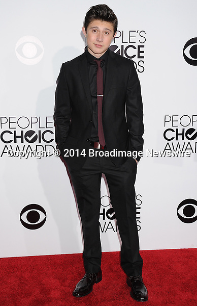 Pictured: Mateus Ward<br /> Mandatory Credit &copy; Gilbert Flores /Broadimage<br /> 2014 People's Choice Awards <br /> <br /> 1/8/14, Los Angeles, California, United States of America<br /> Reference: 010814_GFLA_BDG_288<br /> <br /> Broadimage Newswire<br /> Los Angeles 1+  (310) 301-1027<br /> New York      1+  (646) 827-9134<br /> sales@broadimage.com<br /> http://www.broadimage.com