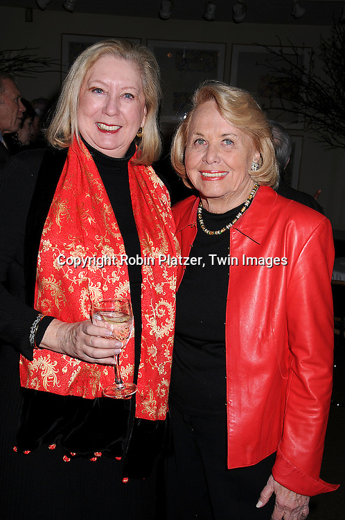"Jane Friedman and Liz Smith.at The Literacy Partners Kick off for it's annual ""An Evening of Readings"" May Gala  at Lincoln Center. This event was on March 10, 2008 and the Gala will be on May 12, 2008. .Julia and David Koch will be honored. ..Robin Platzer, Twin Images."