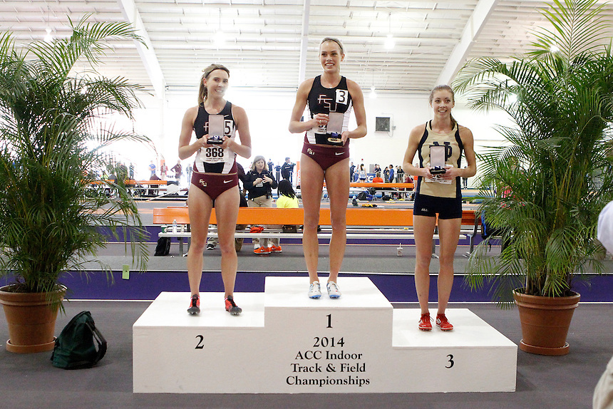 Florida State's Colleen Quigley (378) Florida State's Linden Hall (368) Notre Dame's Kelly Curran (489)