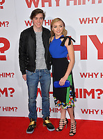Actors Spencer List &amp; sister Peyton List at the world premiere of &quot;Why Him?&quot; at the Regency Bruin Theatre, Westwood. December 17, 2016<br /> Picture: Paul Smith/Featureflash/SilverHub 0208 004 5359/ 07711 972644 Editors@silverhubmedia.com