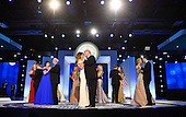 United States President Donald Trump and First Lady Melania Trump dance at the Freedom Ball on January 20, 2017 in Washington, D.C. Trump will attend a series of balls to cap his Inauguration day.     <br /> Credit: Kevin Dietsch / Pool via CNP