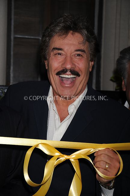 WWW.ACEPIXS.COM . . . . .....August 2, 2008. New York City.....Actor Tony Orlando is honored with the world's largest yellow ribbon outside the Friars Club on September 2, 2008 in New York City...  ....Please byline: Kristin Callahan - ACEPIXS.COM..... *** ***..Ace Pictures, Inc:  ..Philip Vaughan (646) 769 0430..e-mail: info@acepixs.com..web: http://www.acepixs.com