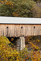 Covered bridge, Dummerston, Vermont
