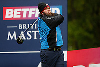 Andrew Johnston hits his drive on the 6th tee during the Hero Pro-am at the Betfred British Masters, Hillside Golf Club, Lancashire, England. 08/05/2019.<br /> Picture David Kissman / Golffile.ie<br /> <br /> All photo usage must carry mandatory copyright credit (© Golffile | David Kissman)