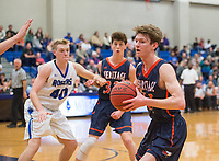 NWA Democrat-Gazette/BEN GOFF @NWABENGOFF<br /> Rogers vs Rogers Heritage Tuesday, Jan. 9, 2018, at Rogers High's King Arena.
