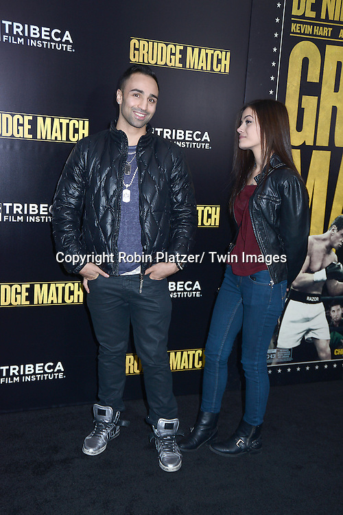 "Paulie Malignaggi attends the World Premiere of ""Grudge Match"" at the Ziegfeld Theatre in New Yok City on December 16, 2013."