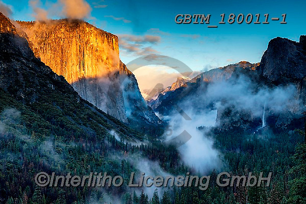 Tom Mackie, LANDSCAPES, LANDSCHAFTEN, PAISAJES, photos,+America, American, Americana, Bridalveil Falls, California, El Capitan, North America, Sierras, Tom Mackie, Tunnel View, USA,+Yosemite National Park, atmosphere, atmospheric, blue, dramatic outdoors, gold, golden, horizontal, horizontals, icon, iconi+c, impressive, landmark, landmarks, landscape, landscapes, mist, misty, mood, moody, national park, weather, yellow,America,+American, Americana, Bridalveil Falls, California, El Capitan, North America, Sierras, Tom Mackie, Tunnel View, USA, Yosemite+,GBTM180011-1,#l#, EVERYDAY