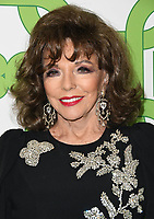 06 January 2019 - Beverly Hills , California - Joan Collins . 2019 HBO Golden Globe Awards After Party held at Circa 55 Restaurant in the Beverly Hilton Hotel. <br /> CAP/ADM/BT<br /> ©BT/ADM/Capital Pictures