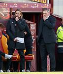 17.02.2019: Motherwell v Hearts: Craig Levein