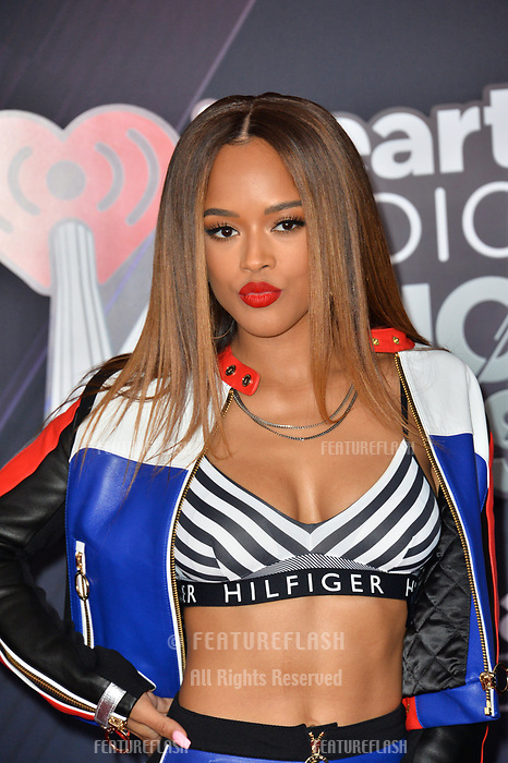 Serayah McNeill at the 2018 iHeartRadio Music Awards at The Forum, Los Angeles, USA 11 March 2018<br /> Picture: Paul Smith/Featureflash/SilverHub 0208 004 5359 sales@silverhubmedia.com