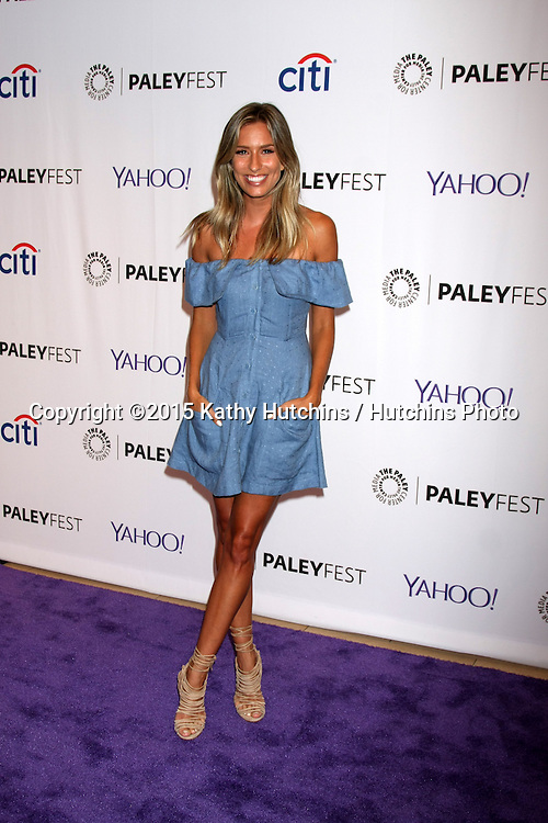 LOS ANGELES - SEP 11:  Renee Bargh at the PaleyFest 2015 Fall TV Preview - NCIS: Los Angeles at the Paley Center For Media on September 11, 2015 in Beverly Hills, CA