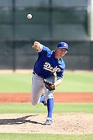 Jordan Pratt / Los Angeles Dodgers 2008 Instructional League..Photo by:  Bill Mitchell/Four Seam Images